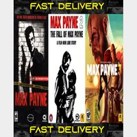 Max Payne Trilogy Bundle | Fast Delivery ⌛| Steam CD Key | Worldwide |
