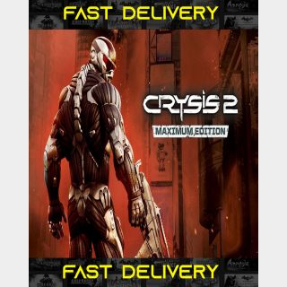 Crysis 2 Maximum Edition| Fast Delivery ⌛| Steam CD Key | Worldwide |