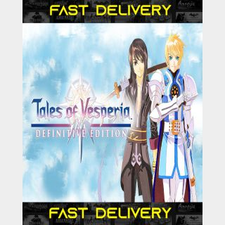 Tales of Vesperia Definitive Edition | Fast Delivery ⌛| Steam CD Key | Worldwide |