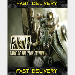 Fallout 3 GOTY - Game Of The Year Edition | Fast Delivery ⌛| Steam CD Key | Worldwide |
