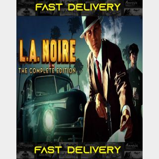L.A. Noire Complete Edition | Fast Delivery ⌛| Steam CD Key | Worldwide |