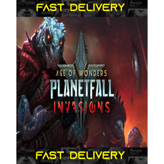 Age of Wonders Planetfall Invasions   Fast Delivery ⌛  Steam CD Key   Worldwide  