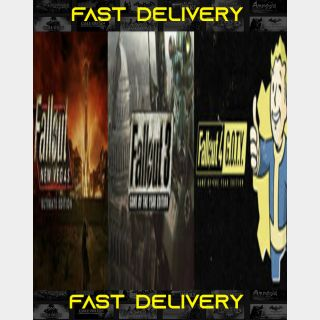 Fallout Bundle | Fast Delivery ⌛| Steam CD Key | Worldwide |