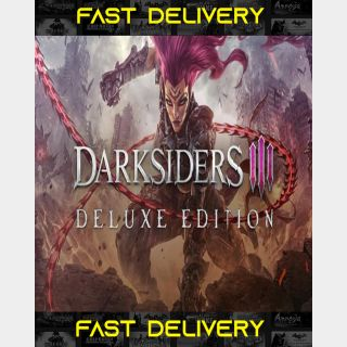 Darksiders 3 III Deluxe Edition | Fast Delivery ⌛| Steam CD Key | Worldwide |