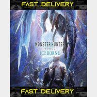 Monster Hunter World Iceborne  Fast Delivery ⌛  Steam CD Key   Worldwide  
