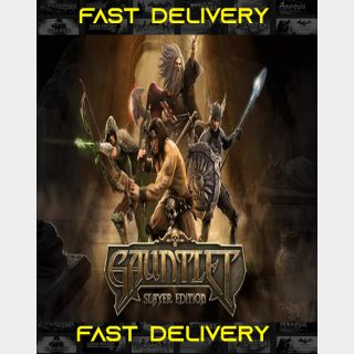 Gauntlet - Slayer Edition | Fast Delivery ⌛| Steam CD Key | Worldwide |