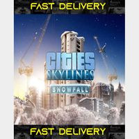 Cities Skylines Snowfall   Fast Delivery ⌛  Steam CD Key   Worldwide  