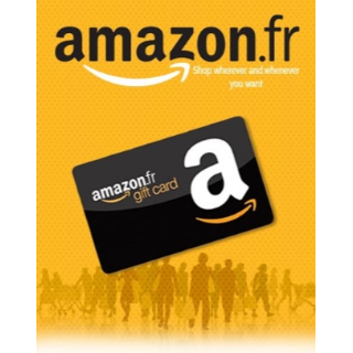 €25.00 Amazon VALID ONLY FRANCE (*)