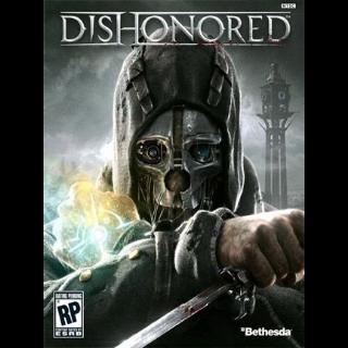 Dishonored (PC Steam Key - Global)