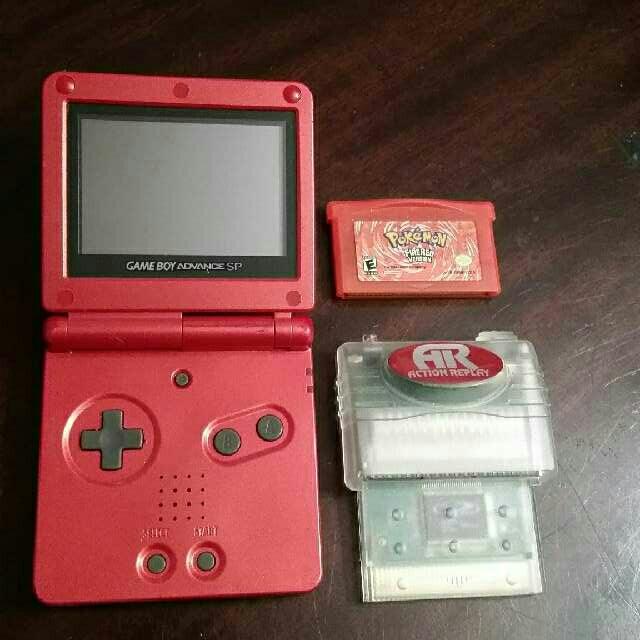 Pokemon GBA Action Replay Bundle - Game Boy Advance