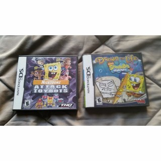 2 SpongeBob Games