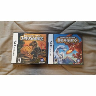 Battle of Giant Dinosaurs and Battle of Giant Dragons Bundle