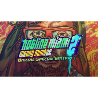 Hotline Miami 2: Wrong Number - Digital Special Edition - (Instant Delivery)