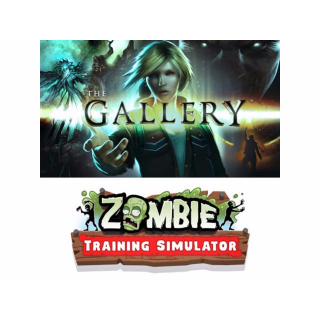 The Gallery - Episode 1: Call of the Starseed + Zombie Traning Simulator VR (HTC VIVE) Steam Code