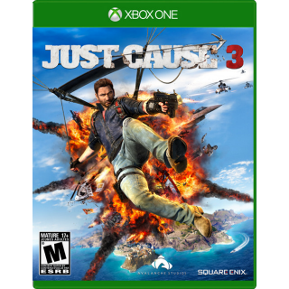 Just Cause 3 XBOX ONE Digital Key US Code Only!