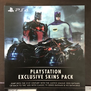 Batman™: Arkham Knight PlayStation®4 Exclusive Skins Pack DLC