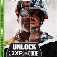 1X 1H 1 Hour 2XP Double XP Codes COD Black Ops Cold War