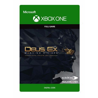 Deus Ex Mankind Divided : Digital Deluxe Edition XBOX One Key