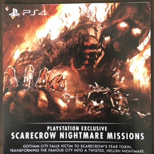 Batman™: Arkham Knight PlayStation® Exclusive Scarecrow Nightmare Missions