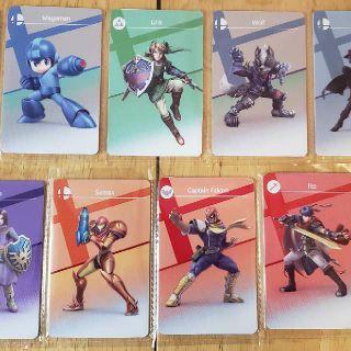 Amiibo Character Cards (2) Monster Hunter