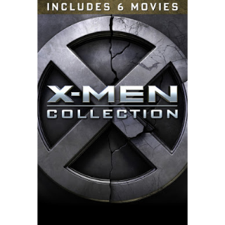 X-Men 6 Movie Collection | HD at MA or VUDU