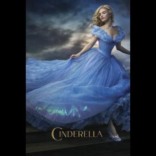 Cinderella (2015)   4K + DMR points