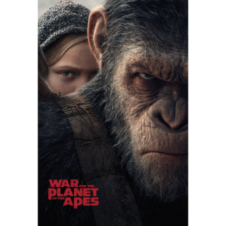 War for the Planet of the Apes   HDX at VUDU or MA
