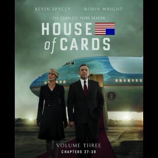 House of Cards Season 3 HD