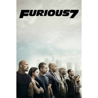 Furious 7 (Extended) | 4K at iTunes