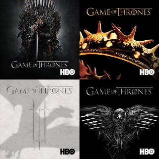 Game of Thrones S1-4   HDX Vudu IW