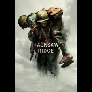 Hacksaw Ridge   HDX at VUDU
