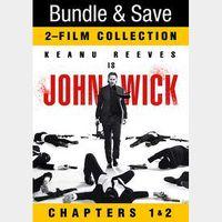 John Wick Chapters 1 & 2 | 4K at VUDU