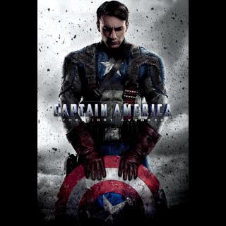 Captain America: The First Avenger | 4K + DMR Points
