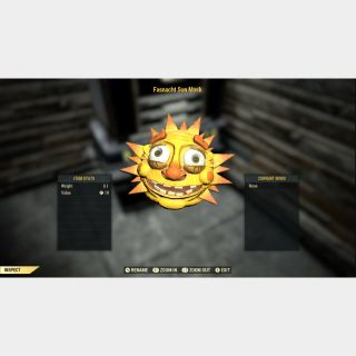 Apparel | fasnacht sun mask