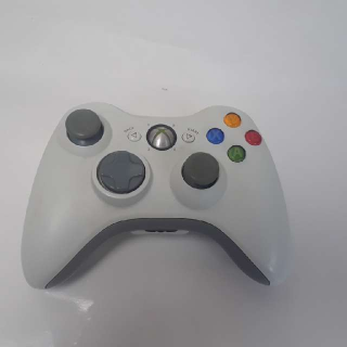 Wireless Xbox 360 Controler (White)
