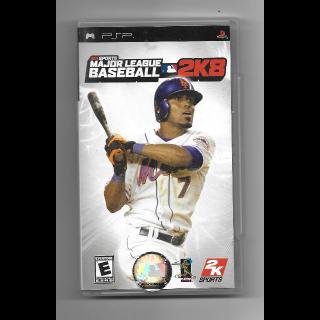 Major League Baseball 2K8 for PSP