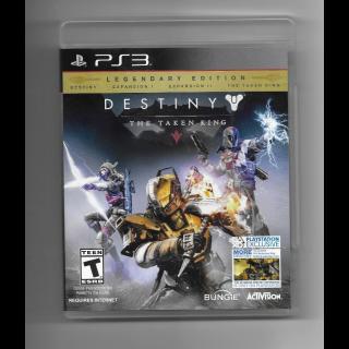 Destiny: Taken King Legendary Edition for Playstation 3