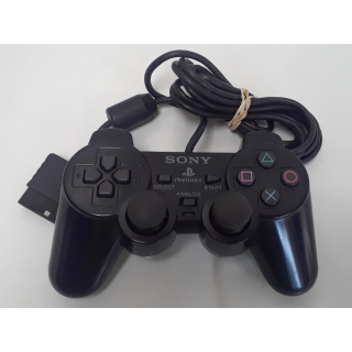 Black Dual Shock Controller for Playstation 2