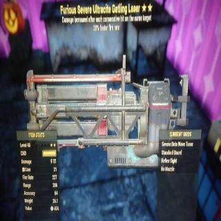 Weapon | FURIOUS FFR ULTRA MAX 3*