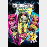 Monster High: Electrified (FULL CODE, Vudu & iTunes)