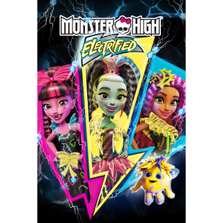 Monster High: Electrified (FULL CODE, Vudu & iTunes)