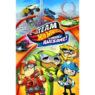 Team Hot Wheels: The Origin of Awesome! (iTunes)
