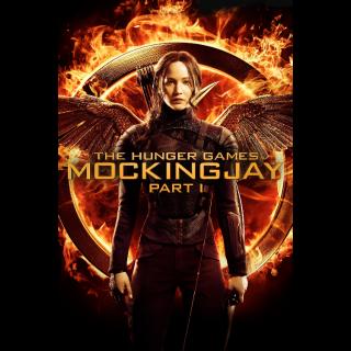 The Hunger Games: Mockingjay - Part 1 (Vudu)