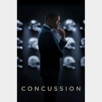 Concussion (SD Vudu or Movies Anywhere)