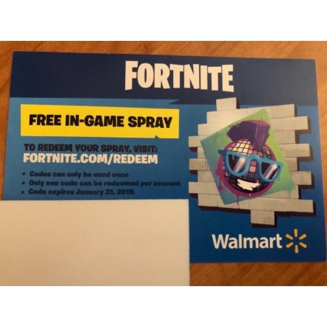 Fortnite free in game spray code