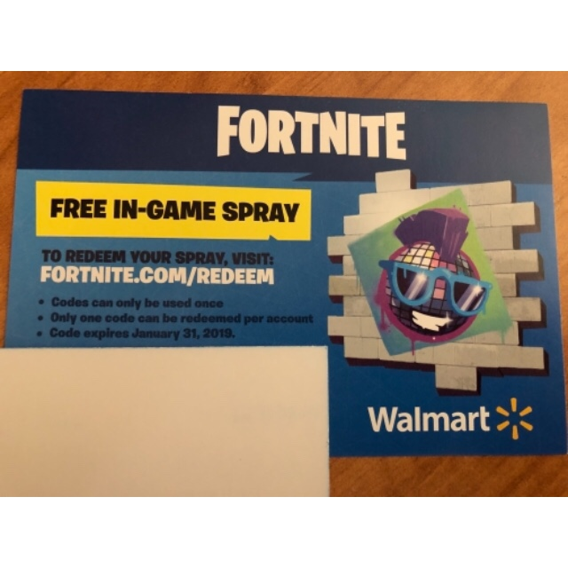 EXCLUSIVE SPRAY PAINT CODE!! (FORTNITE) - Other