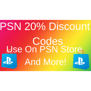 Code | 20% Off PS4 Store