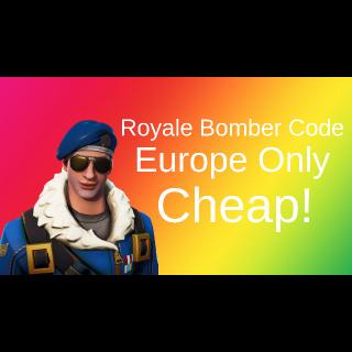 Code | Royale Bomber Code 1x EU