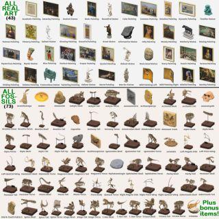 Bundle | ALL 43 ART & 73 FOSSILS!
