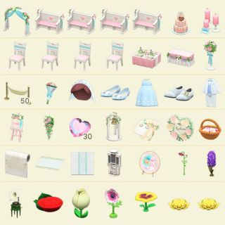 Furniture | WEDDING and FLOWER sets!